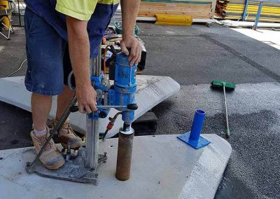 Cut It Out Concrete - Concrete Drilling in Action