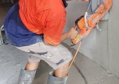 Cut It Out Concrete - High frequency cutting project