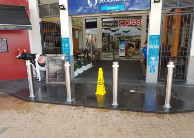 Cut It Out Concrete Sawing & Core Drilling - Bollards